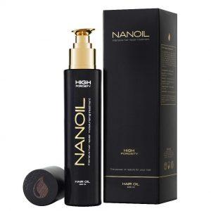 naturalny olejek do włosów - Nanoil