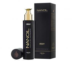 naturalny olejek do włosów - Nanoil - front